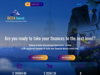 HYIP Investment Program:DeltaInvest