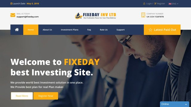 FIXEDAY INVESTMENT LIMITED