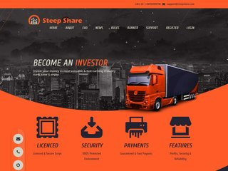 HYIP Investment Program:Steep Share