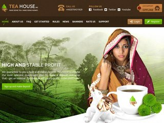 HYIP Investment Program:Tea House Inc Limited