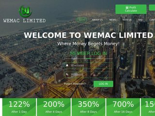 HYIP Investment Program:Wemac Limited